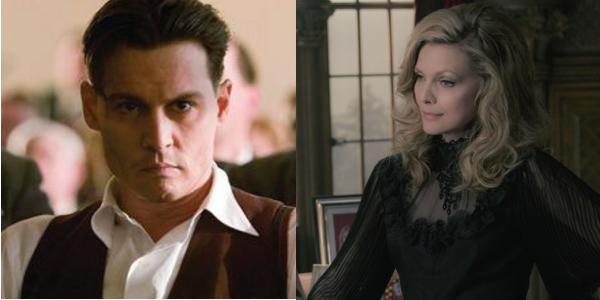 Johnny Depp Michelle Pfeiffer