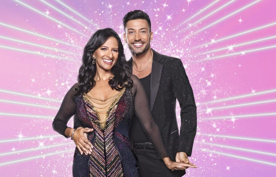 Strictly Ranvir Singh and Giovanni Pernice