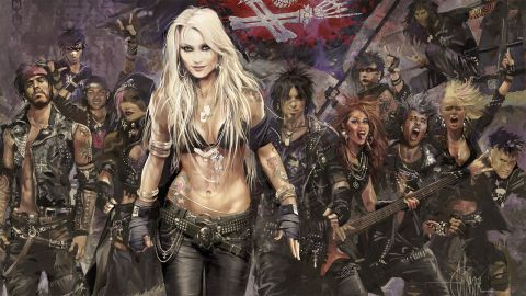 Doro – Forever Warriors, Forever United album cover
