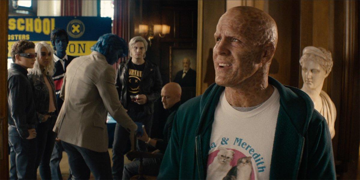 Deadpool 2 Deadpool with X-Men cast