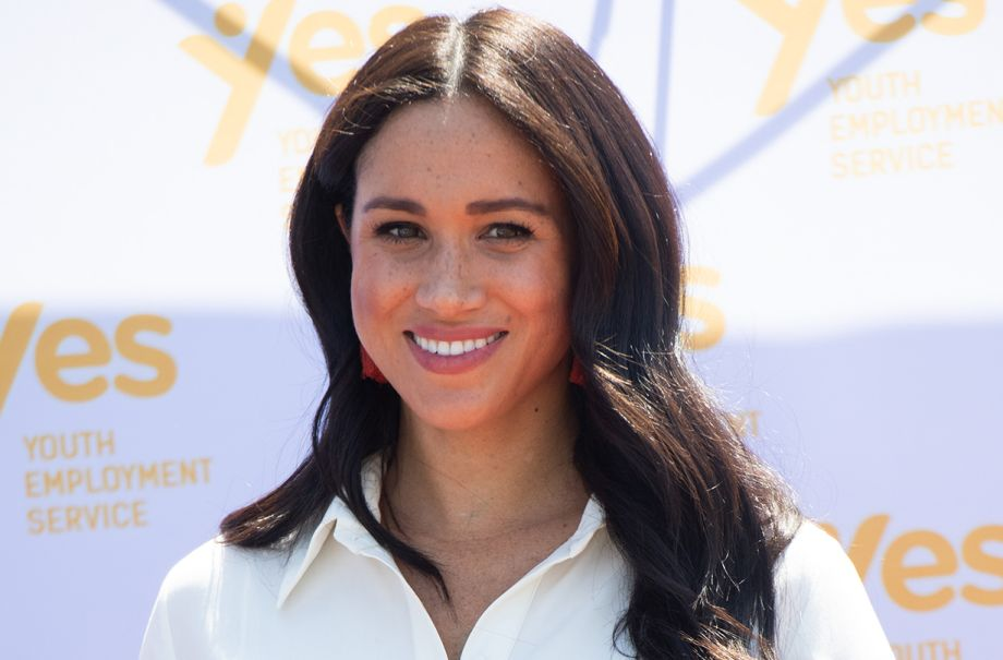 duchess meghan markle spotted canada womens charity visit