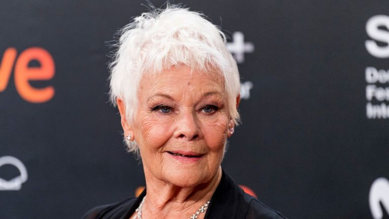 Actress Dame Judi Dench attends 'Red Joan' premiere during the 66th San Sebastian International Film Festival at Kursaal Palace on September 25, 2018