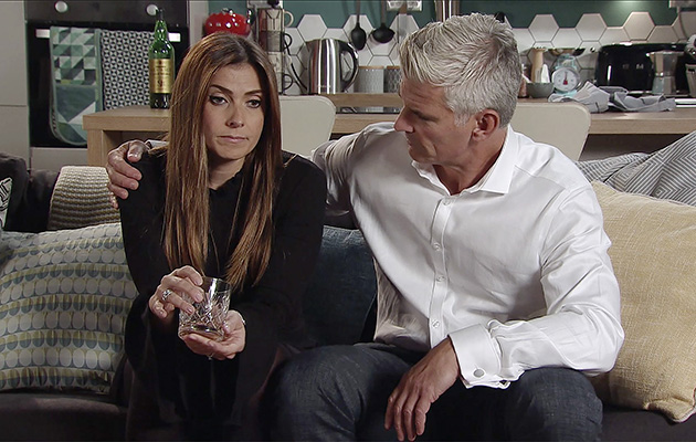 Robert asks Michelle Connor again about having a child of their own.