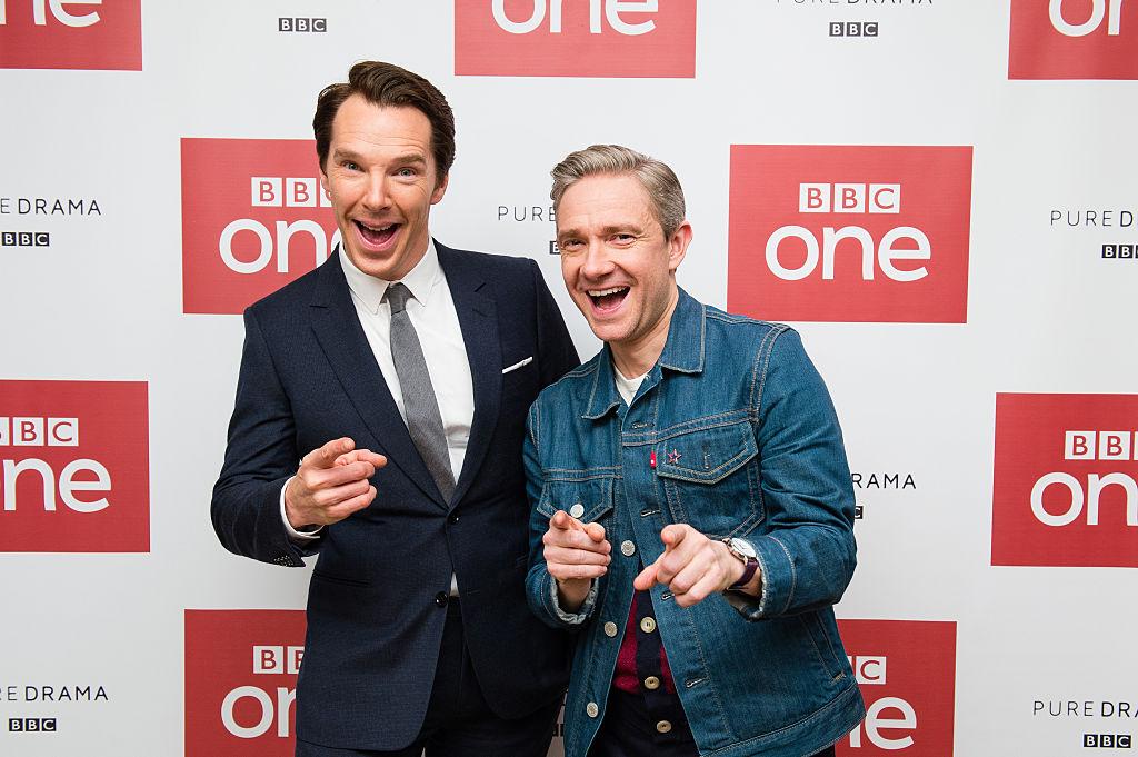 Benedict Cumberbatch Martin Freeman