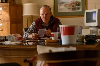 Michael Keaton as Dr. Samuel Finnix in Hulu's 'Dopesick.'