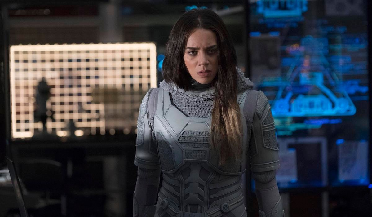 Hannah John-Kamen's Ghost in Ant-Man and the Wasp