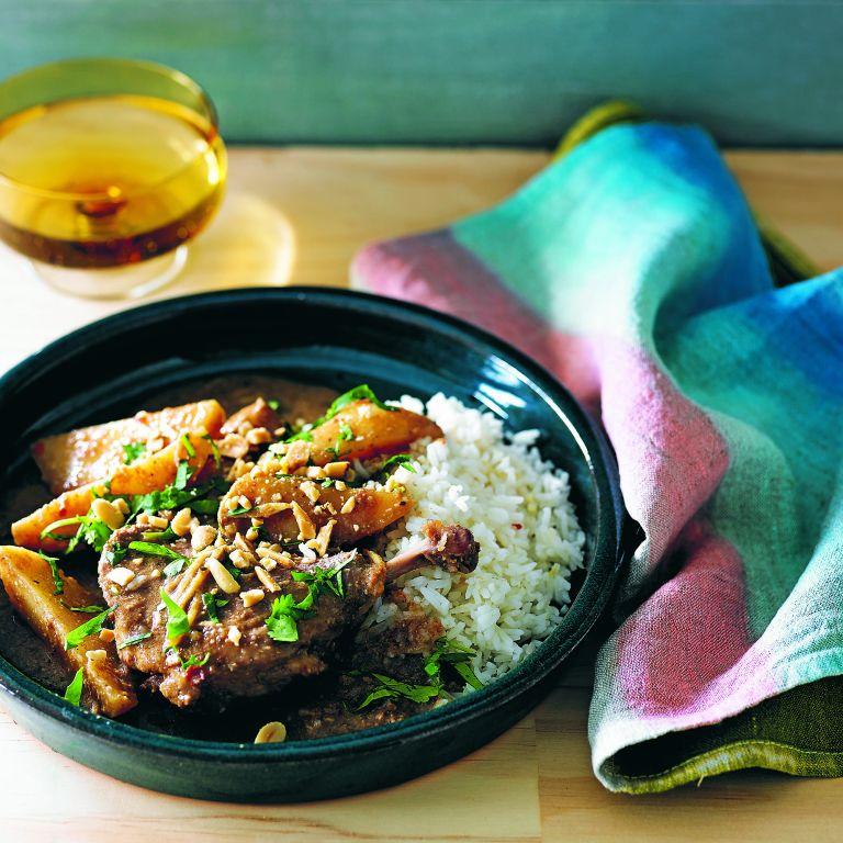 Duck mussaman curry
