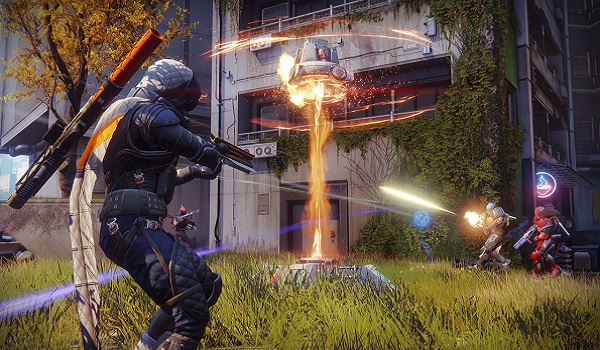 Players battle over a zone in Countdown for Destiny 2