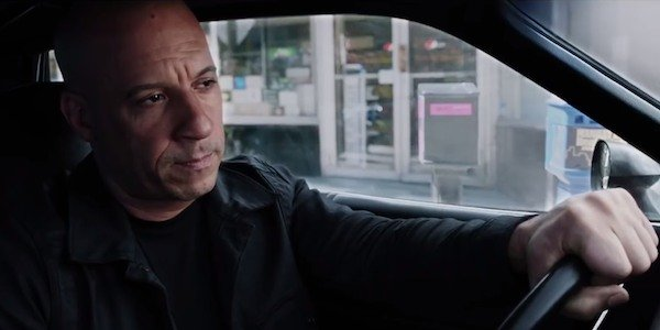 Vin Diesel Dominic Toretto The fate of the furious