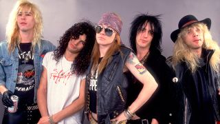 Guns N Roses press shot