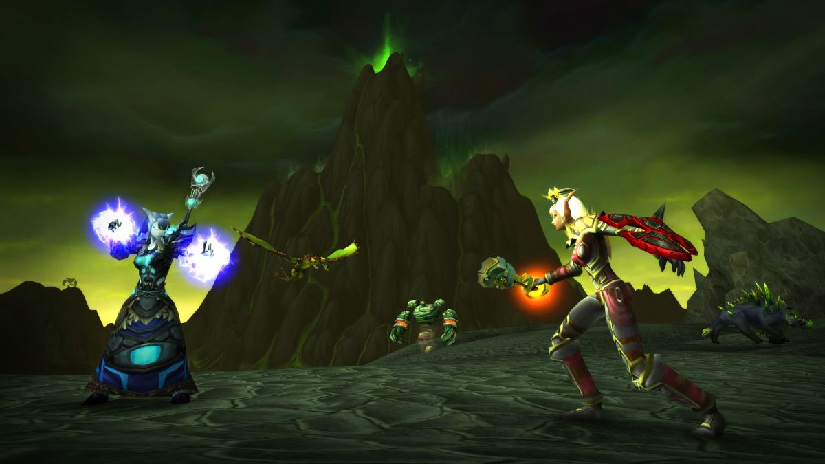These are the level requirements for each World of Warcraft: Burning Crusade Classic zone