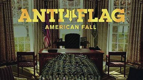 Cover art for Anti-Flag - American Fall album