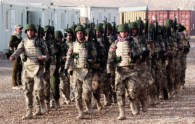 The British Army has not been at war for three years but, even so, it faces one of its biggest challenges to date.