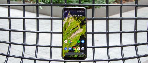 Google Pixel 4 review front
