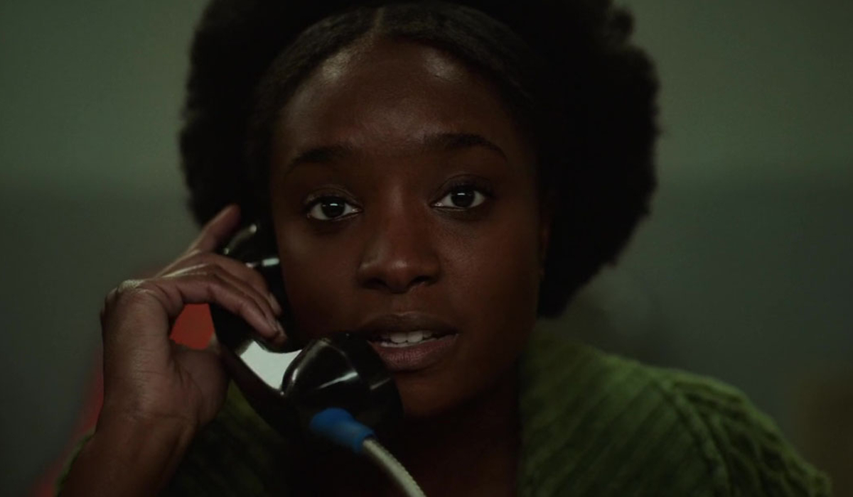 If Beale Street Could Talk Kiki Layne on the jail phone