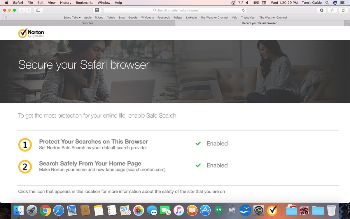 Norton Security Deluxe (for Mac) Review: Strong But Sparse | Tom's Guide