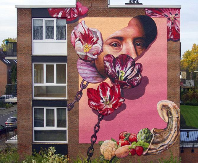 Street art: Gaia
