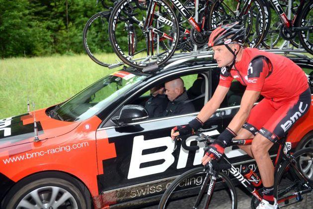 Steve Cummings, Tour de Suisse 2012, stage four