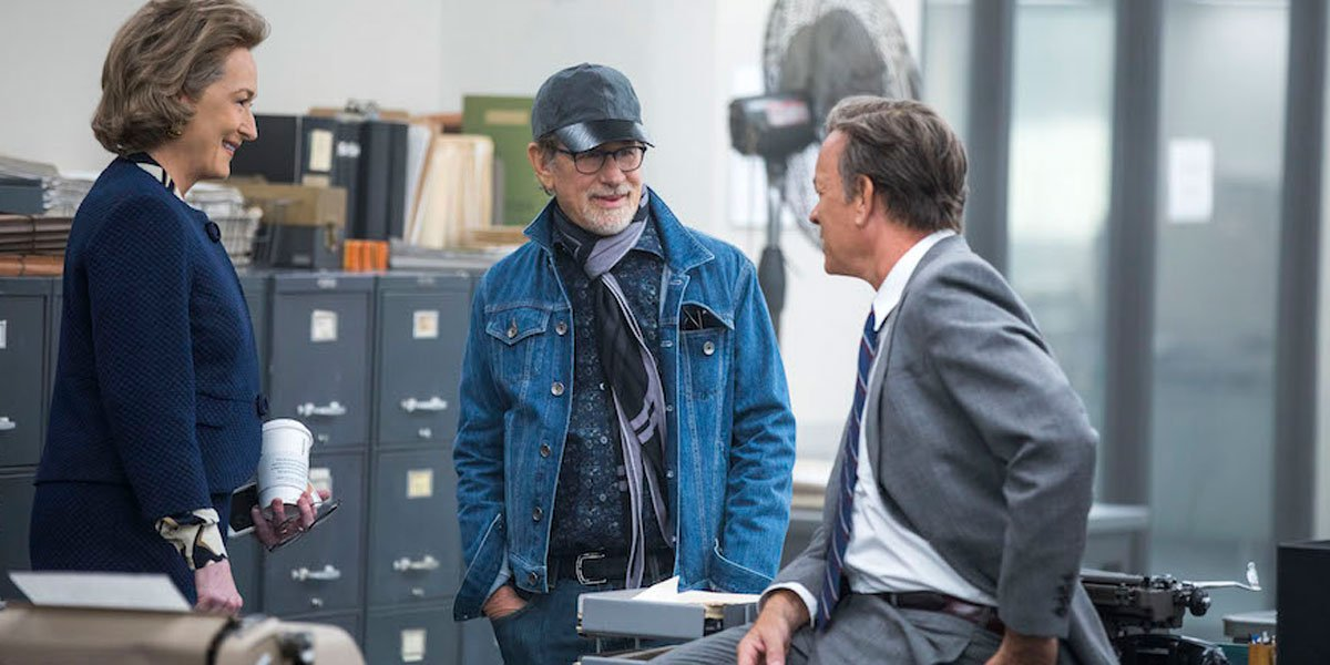 Steven Spielberg in The Post Official image