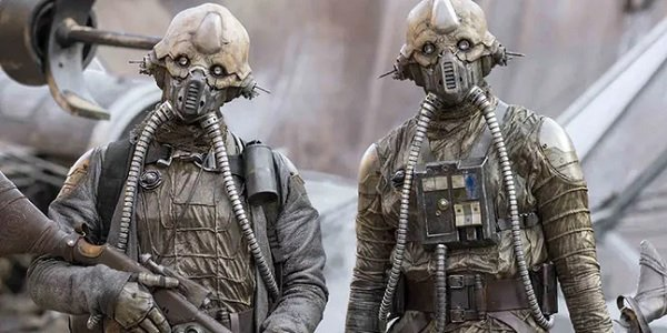 Rogue One: A Star Wars Story Edrio and sibling on Jedha