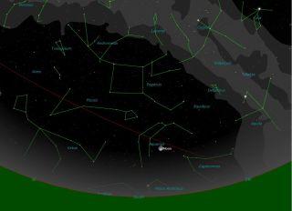 night sky simulation