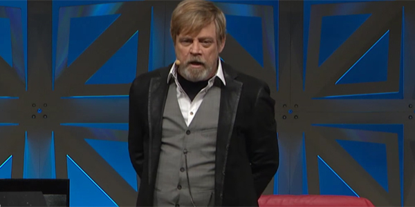 The Force Awakens Luke Skywalker Mark Hamill