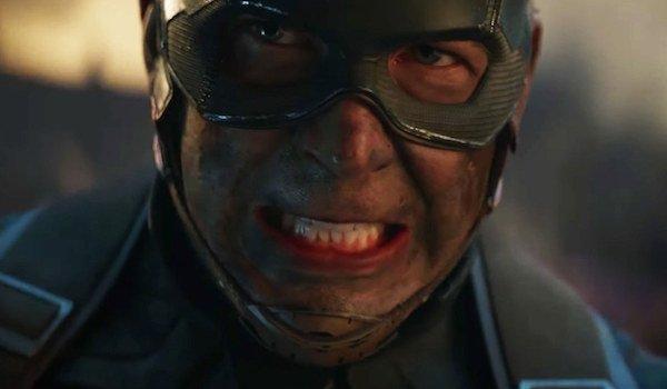 """Captain America in Endgame Battle """"avengers assemble"""""""
