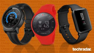 A selection of the best cheap smartwatches including Fitbit Versa Lite, TicWatch E2 and AmazFit Bip