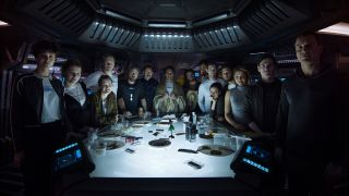 Alien Covenant Crew