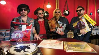 Rival Sons in Dodo Beach Records, Berlin