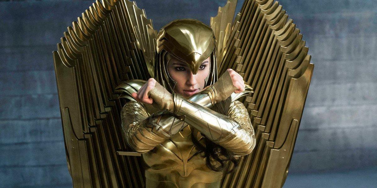 Wonder Woman 1984 Diana in Golden Eagle armor