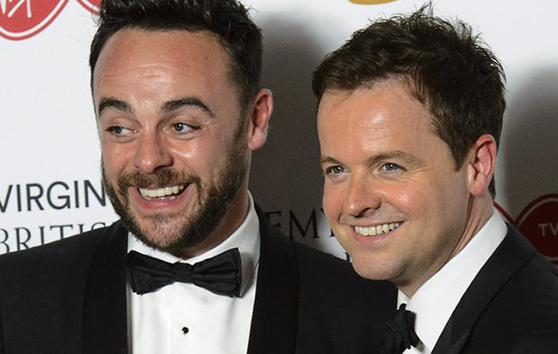 Ant and Dec odds on favourites to win for 17th time at NTAS in a row