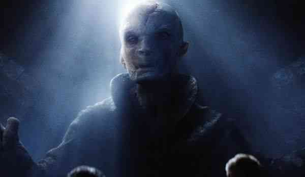 Supreme Leader Snoke from Star Wars: The Force Awakens