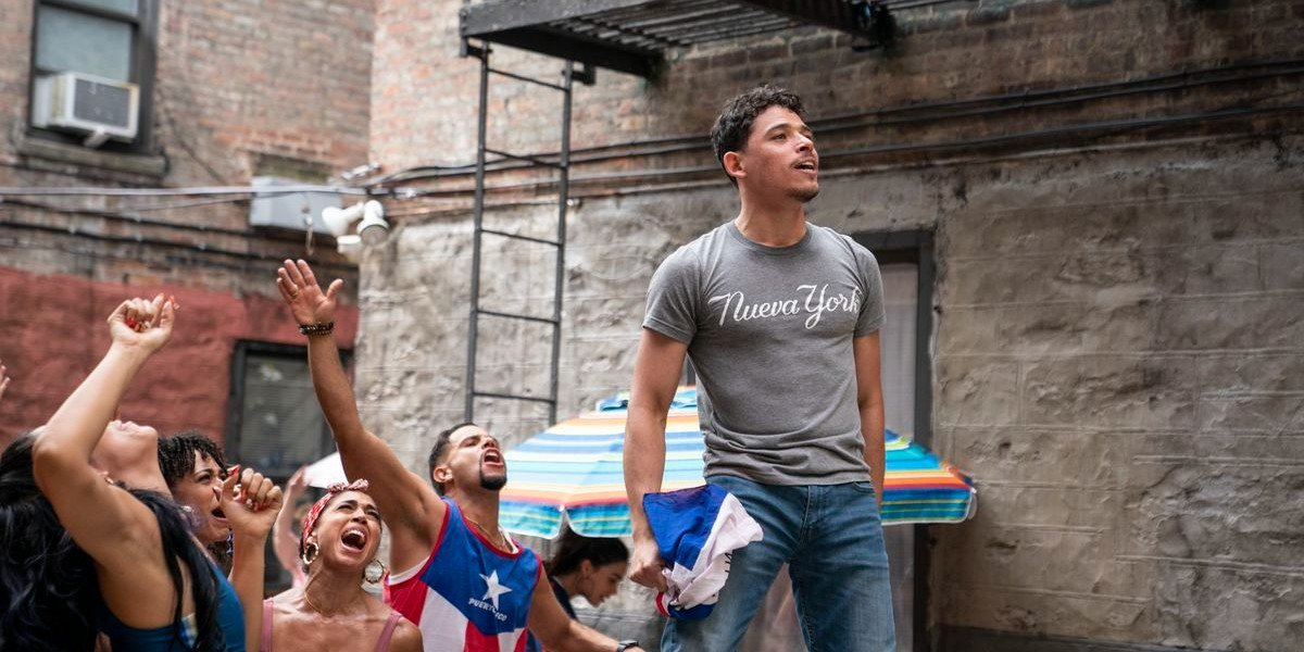 Anthony Ramos in In The Heights