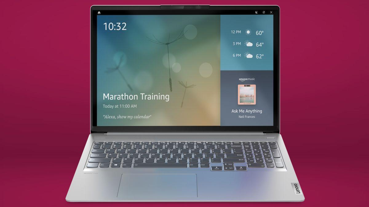 Lenovo laptops get more Alexa with Show Mode