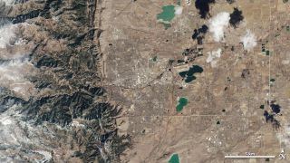 LDCM Satellite Image of Boulder, Colorado