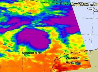 Australia tropical low 97S