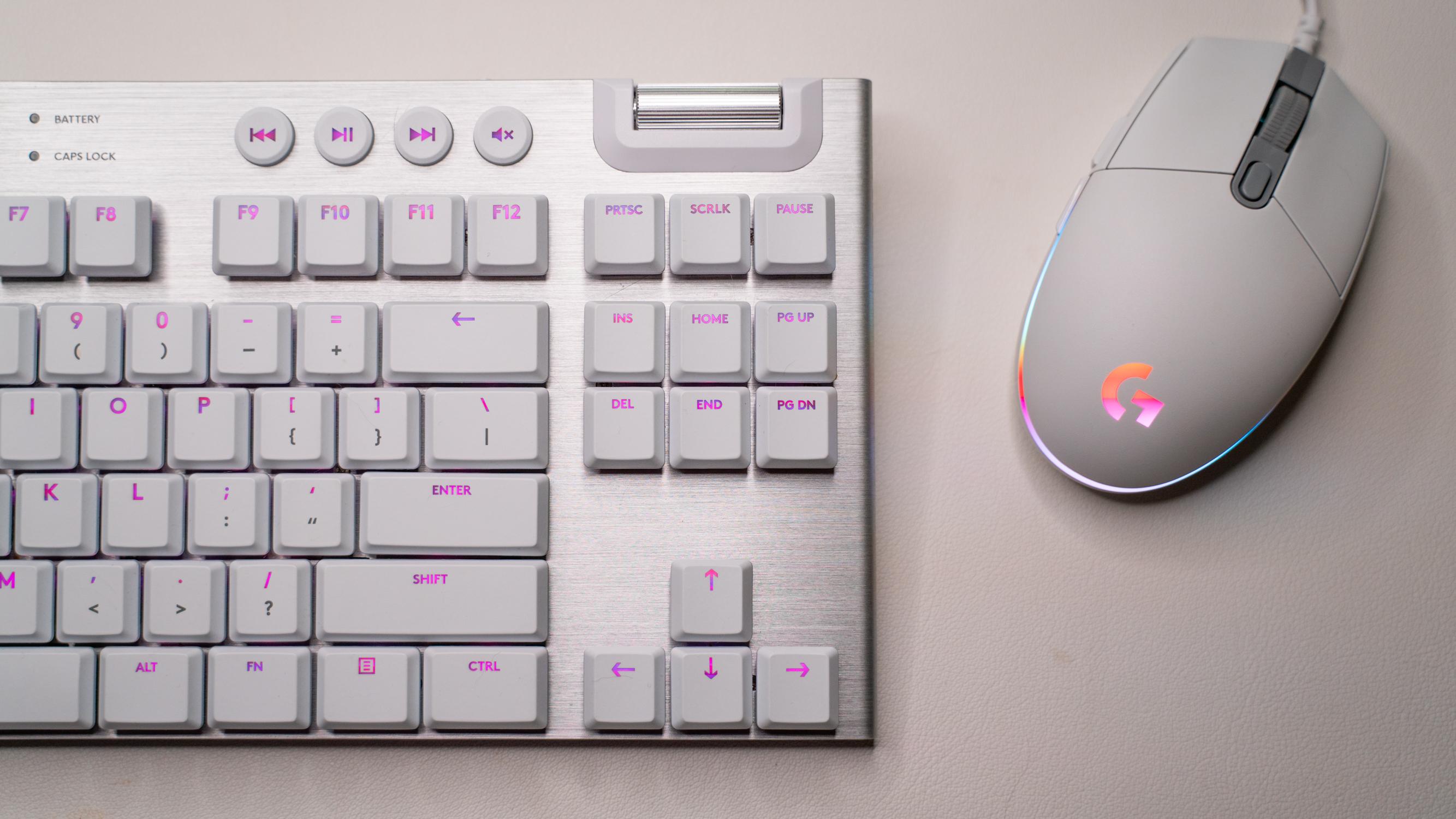 Logitech G915 TKL Lightspeed Gaming Keyboard