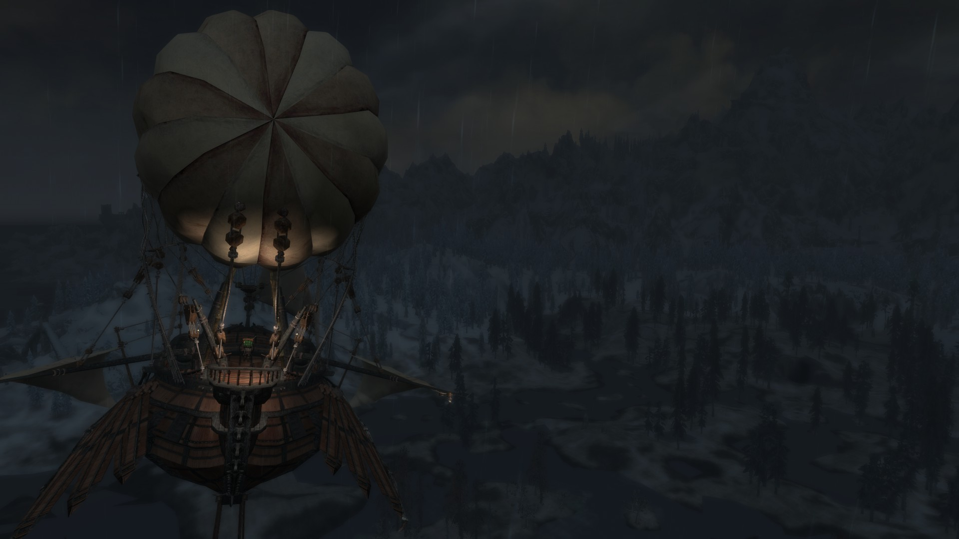 the best skyrim mods: airship dev aveza
