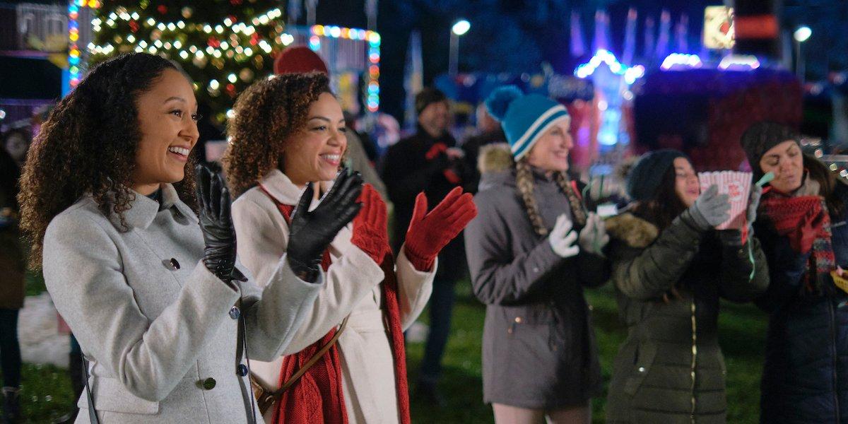 christmas comes twice hallmark 2020 Tamera Mowry Housley Zarrin Darnell-Martin
