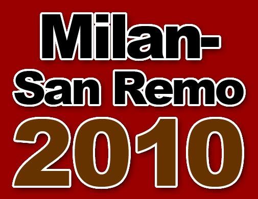 Milan-San Remo logo 2010
