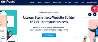 Fasthosts ecommerce website builder