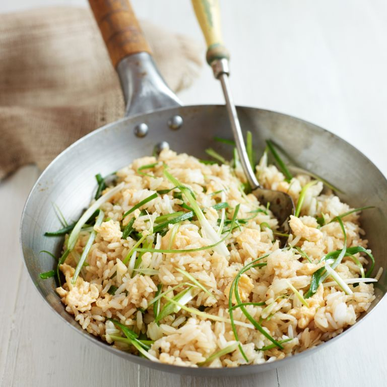 Egg Fried Rice-food-woman and home
