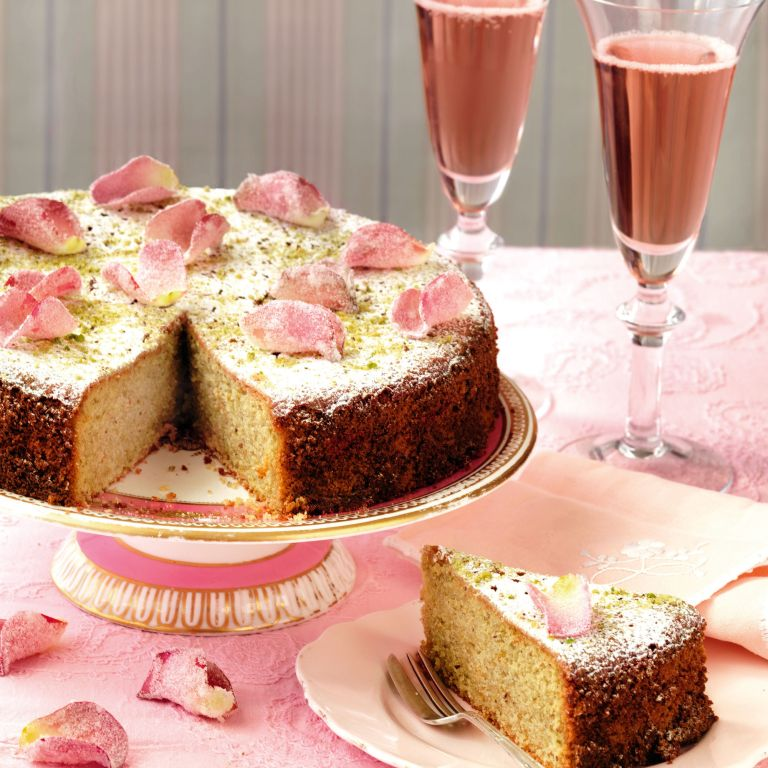 Pistachio and Rose water Cake recipe-Cake recipes-recipe ideas-new recipes-woman and home