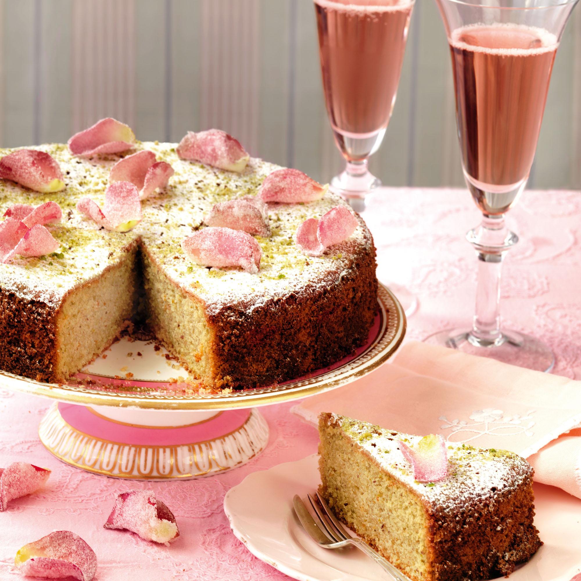 Lemon Cardamom Layer Cake