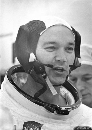 Michael Collins: Apollo Astronauts Worked Hard, But Aren't Heroes
