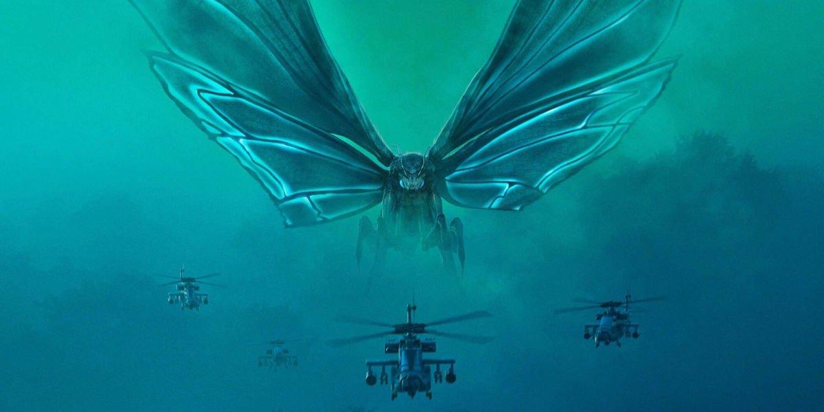 Mothra in Godzilla: King of the Monsters artwork