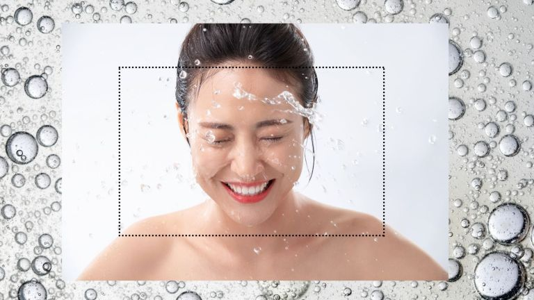 how to wash your face woman facial cleansing