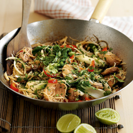 May 10 -Sticky Pork Stir Fry recipe-taste test-food-woman and home