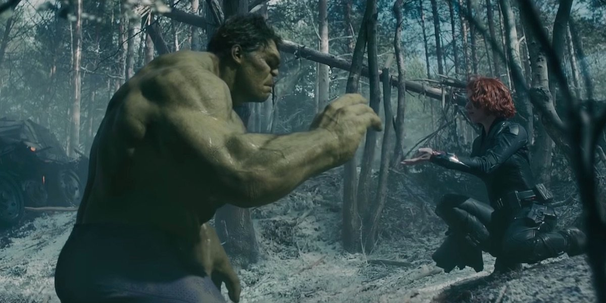 Scarlett Johansson Thinks Black Widow And Hulk's Romance 'Wasn't Meant To Be'
